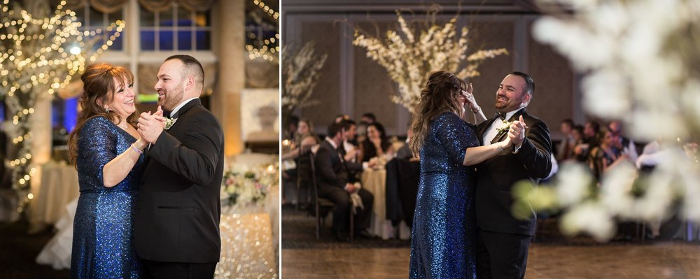 Here is another mother-son dance that I had tears almost welling up, and I know I wasn't the only one. This was a sweet dance. Love!