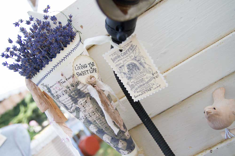 handmade paper holders for dried flowers