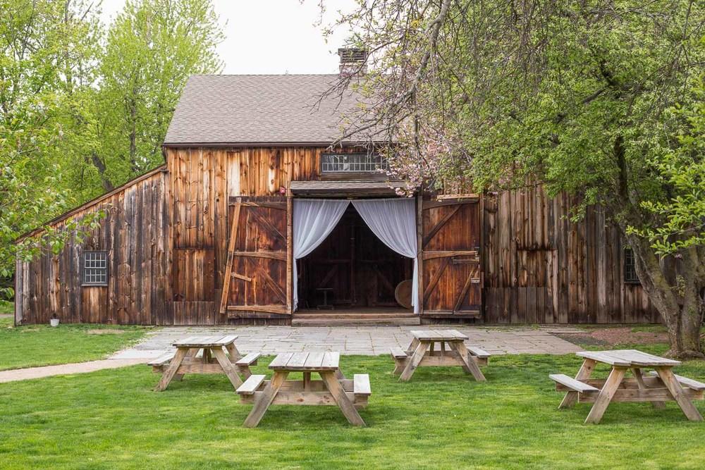 webb barn ct wedding venue spring view