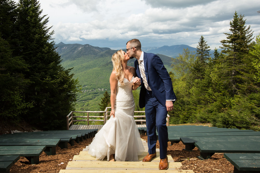 After Wedding Session at Loon Mountain, NH