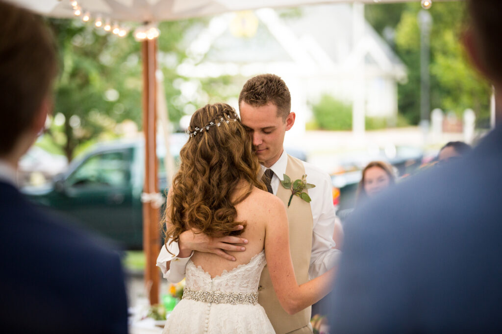 view of first dance